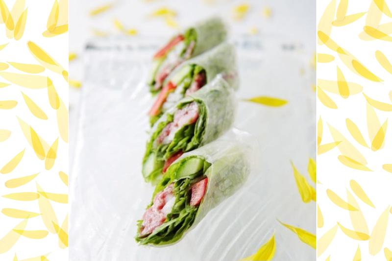 【前菜・サラダ】 牛牛生春巻き